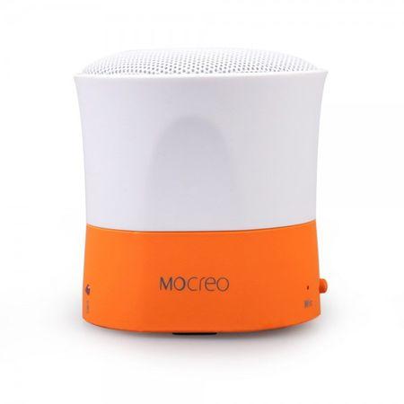 Mocreo Mosound Mini Ultraportabler Bluetooth Lautsprecher mit integriertem Mikrofon - orange