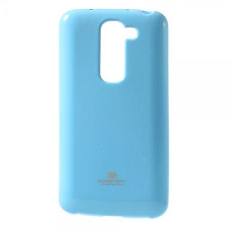 LG G2 Mini Mercury Glitzerndes, elastisches Plastik Case - hellblau
