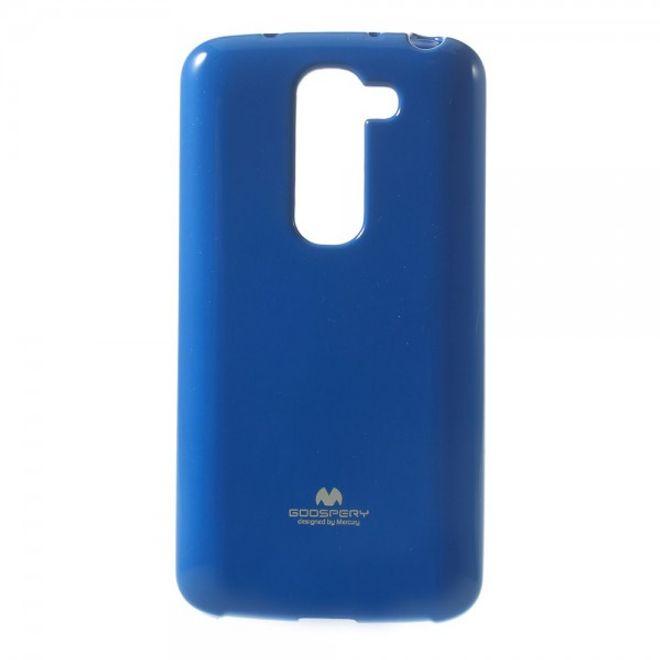 Goospery LG G2 Mini Mercury Glitzerndes, elastisches Plastik Case - navyblau