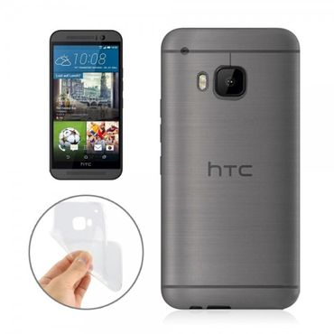 HTC One (M9) Ultradünnes (0.3mm), elastisches Plastik Case - transparent
