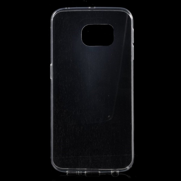 Samsung Galaxy S6 Edge Ultradünnes (0.6mm), elastisches Plastik Case - transparent