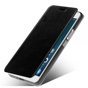 Huawei Honor 6 Plus MOFI Rui Series Leder Case mit Standfunktion - schwarz