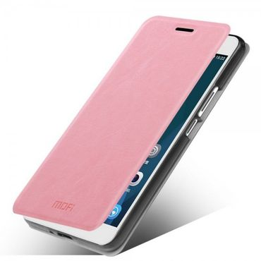 Huawei Honor 6 Plus MOFI Rui Series Leder Case mit Standfunktion - pink