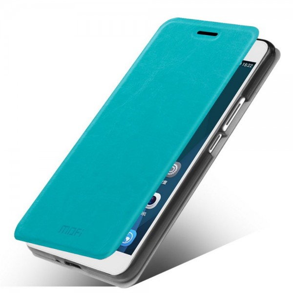 Mofi Huawei Honor 6 Plus MOFI Rui Series Leder Case mit Standfunktion - blau