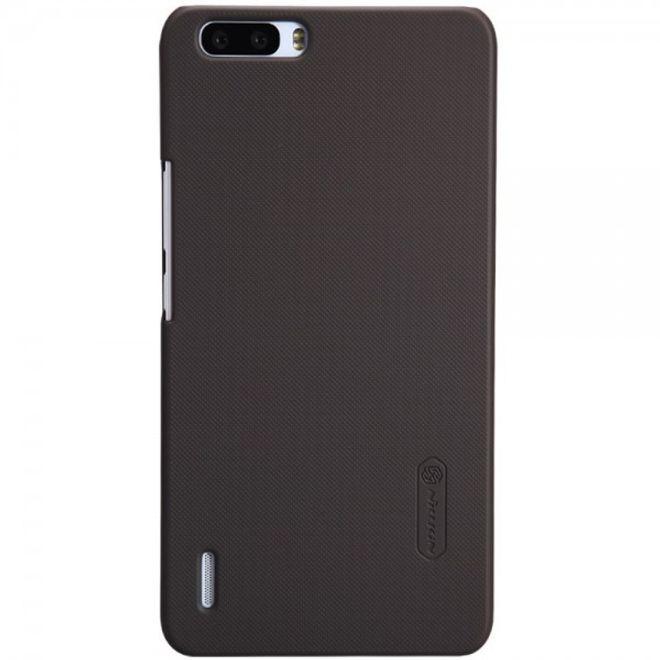 Nillkin Huawei Honor 6 Plus Nillkin Hart Plastik Case inklusive Schutzfolie - braun