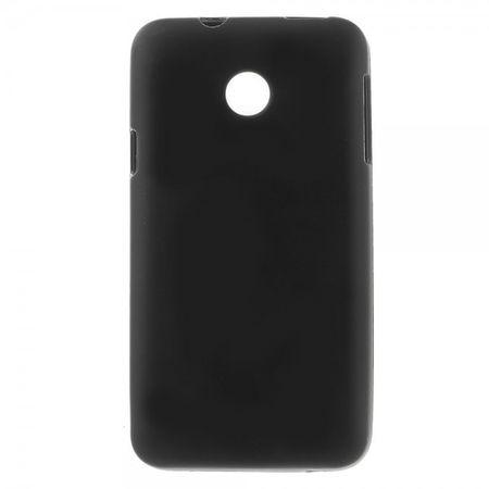 Huawei Ascend Y330 Elastisches, mattes Plastik Case - schwarz