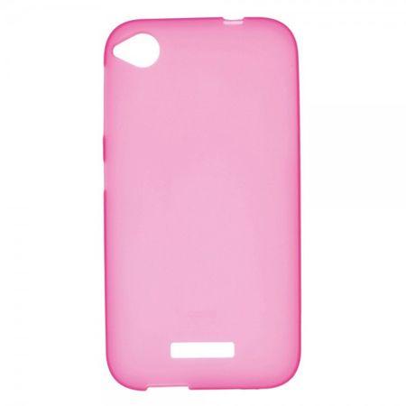 HTC Desire 320 Elastisches, mattes Plastik Case - rosa