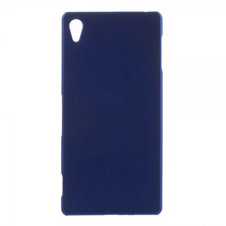 Sony Xperia Z4 Mattes Hart Plastik Case - blau