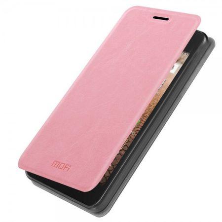 Huawei Ascend Y635 MOFI Rui Series Crazy Horse Leder Case - pink