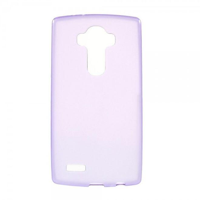 LG G4 Glänzendes, elastisches Plastik Case - purpur