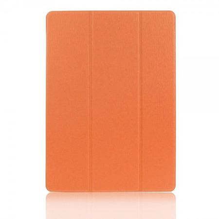 Samsung Galaxy Tab S 10.5 (T800/T801/T805) Faltbares Leder Case mit Standfunktion - orange