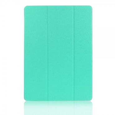 Samsung Galaxy Tab S 10.5 (T800/T801/T805) Faltbares Leder Case mit Standfunktion - cyan