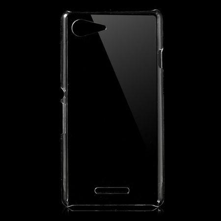 Sony Xperia E3/E3 Dual Kristallklares Hart Plastik Case - transparent
