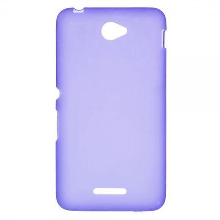 Sony Xperia E4/E4 Dual Elastisches, mattes Plastik Case - purpur