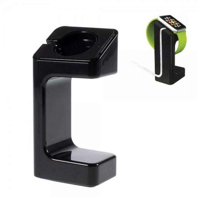 Apple Watch Plastik Standhalterung - schwarz