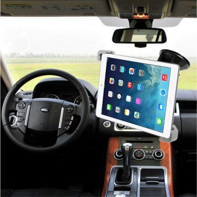 universelle auto halterung f r tablets mit einer breite von 17 7 27cm schwarz. Black Bedroom Furniture Sets. Home Design Ideas
