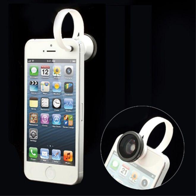 Fish Eye Kamera Linse für iPhone 4/4S und iPhone SE/5S/5 ...
