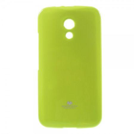 Motorola Moto G (2 Gen) Mercury Goospery Leicht glitzerndes, elastisches Plastik Case - grün