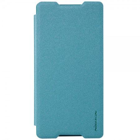 Sony Xperia Z4/Z3+/Z3+ Dual Nillkin Sparkle Series Leder Case - blau