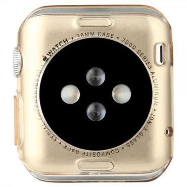 Apple Watch 38mm Elastisches Plastik Case von Baseus - gold