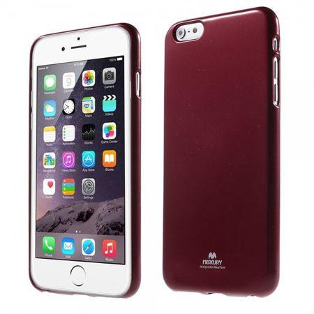 iPhone 6 Plus/6S Plus Newsets Mercury Leicht glänzendes, elastisches Plastik Case - rot