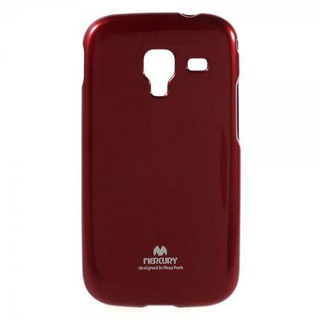 Samsung Galaxy Ace 2 Newsets Mercury Elastisches, leicht glänzendes Plastik Case - rot