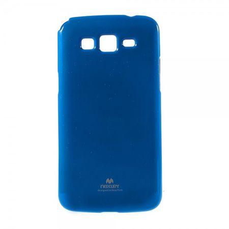 Samsung Galaxy Grand Prime Newsets Mercury Elastisches, leicht glänzendes Plastik Case - dunkelblau