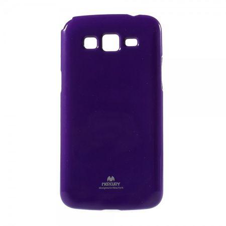 Samsung Galaxy Grand Prime Newsets Mercury Elastisches, leicht glänzendes Plastik Case - purpur