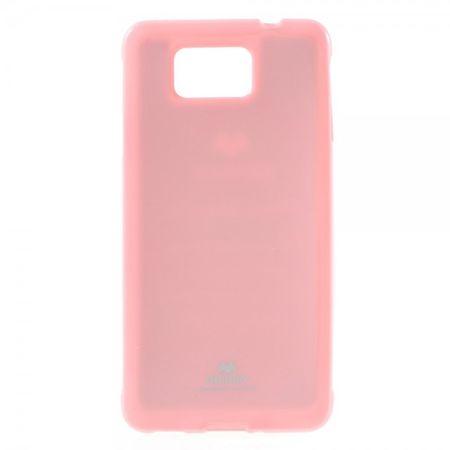 Samsung Galaxy Alpha Newsets Mercury Elastisches, leicht glänzendes Plastik Case - pink