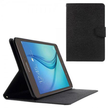 Samsung Galaxy Tab A 8.0 (T350) Mercury Goospery Modisches Leder Case - schwarz
