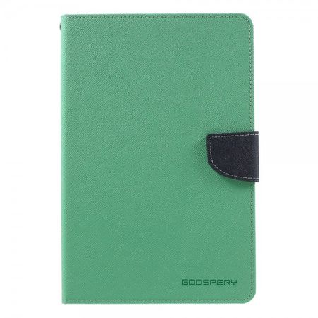 Goospery - Samsung Galaxy Tab A 8.0 (T350) Hülle - Tablet Bookcover - Fancy Diary Series - mint/navy