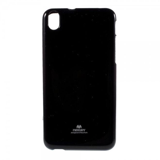 Newsets HTC Desire 826 Newsets Mercury Elastisches, leicht glänzendes Plastik Case - schwarz
