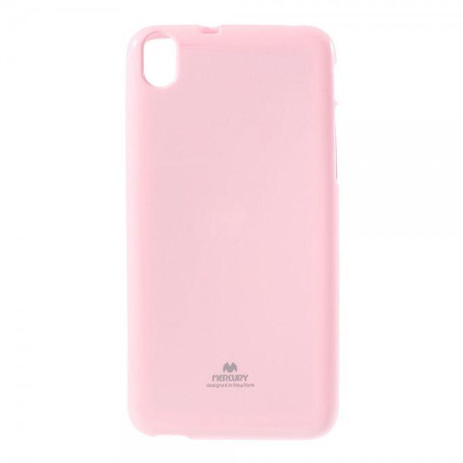 Newsets HTC Desire 826 Newsets Mercury Elastisches, leicht glänzendes Plastik Case - pink