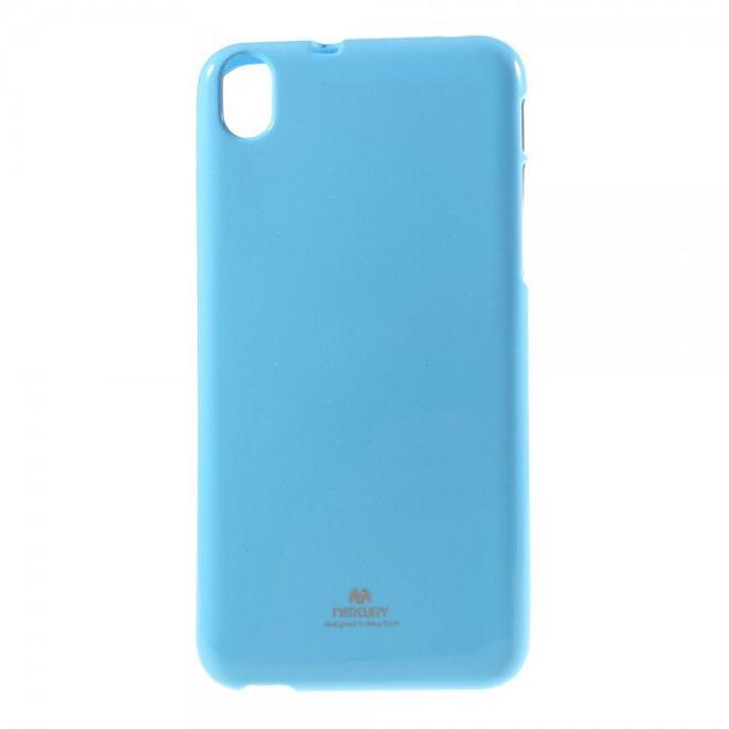 Newsets HTC Desire 826 Newsets Mercury Elastisches, leicht glänzendes Plastik Case - hellblau