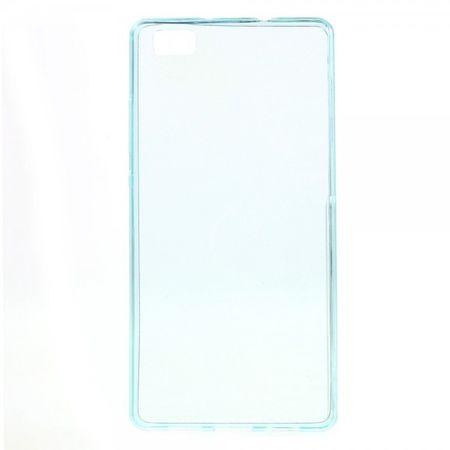 Huawei P8 Lite Ultradünnes (0.6mm), elastisches Plastik Case - hellblau