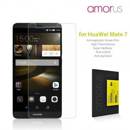 Huawei Ascend Mate7 Anti-Explosions Schutzfolie aus gehärtetem Glas von Amorus