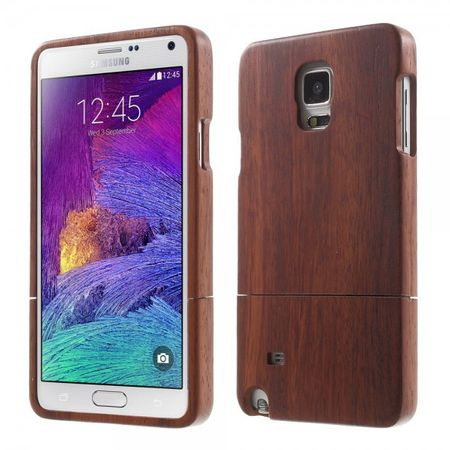 Samsung Galaxy Note 4 Zweiteiliges Rosenholz Case