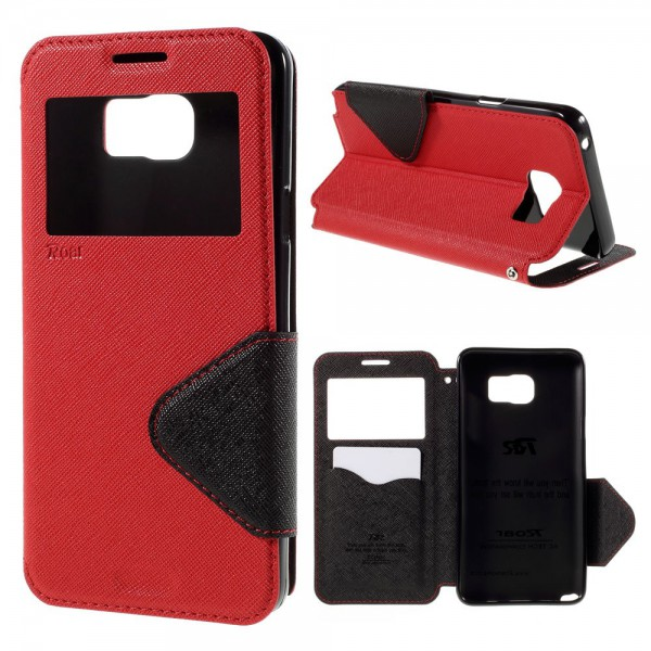 Roar Samsung Galaxy Note 5 Roar Korea Leder Case mit Standfunktion - rot