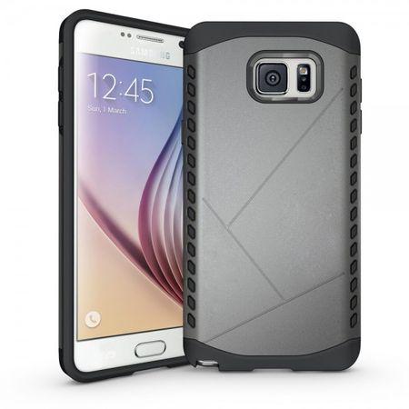 Samsung Galaxy Note 5 Solides Hart Plastik Case - grau