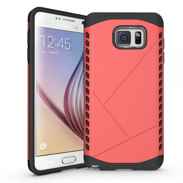 Samsung Galaxy Note 5 Solides Hart Plastik Case - rot