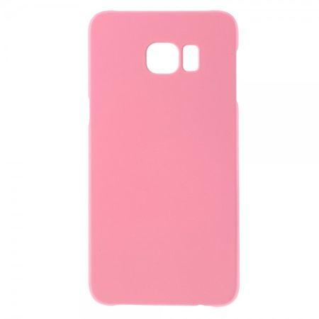 Samsung Galaxy S6 Edge Plus Gummiertes, rutschfestes Hart Plastik Case - pink