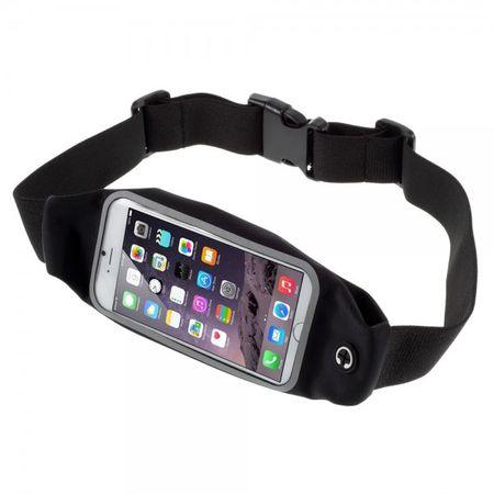 iPhone 6 Plus Jogging Gurthalterung touchscreenfähig - schwarz
