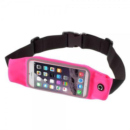 iPhone 6 Plus Jogging Gurthalterung touchscreenfähig - rosa