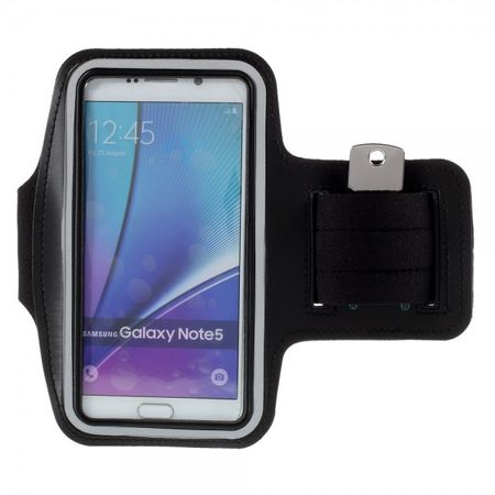 Samsung Galaxy S6 Edge Plus/Note 5 Sport Armband - schwarz