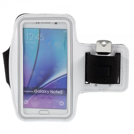 Galaxy S6 Edge Plus/Note 5 Sport Armband - weiss