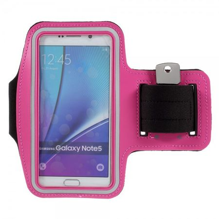 Galaxy S6 Edge Plus/Note 5 Sport Armband - rosa