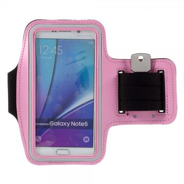 Samsung Galaxy S6 Edge Plus/Note 5 Sport Armband - pink