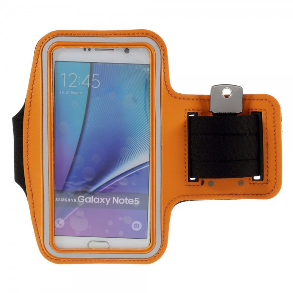 Samsung Galaxy S6 Edge Plus/Note 5 Sport Armband - orange