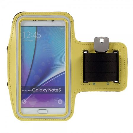 Galaxy S6 Edge Plus/Note 5 Sport Armband - gelb