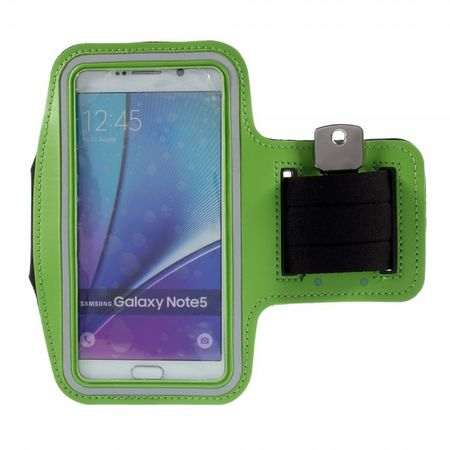 Samsung Galaxy S6 Edge Plus/Note 5 Sport Armband - grün